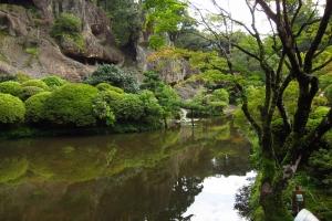The scenery in Kanazawa was beautiful